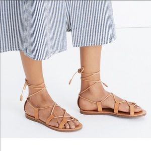 Madewell SOLD OUT Boardwalk Gladiator sandals HOT!